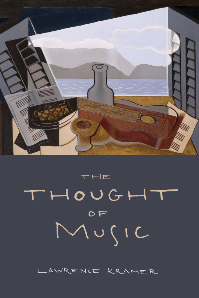 Cover image for The Thought of Music by Lawrence Kramer