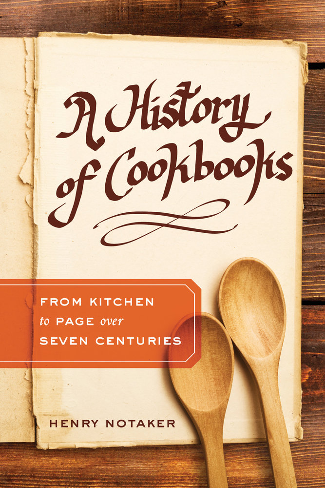A History of Cookbooks cover