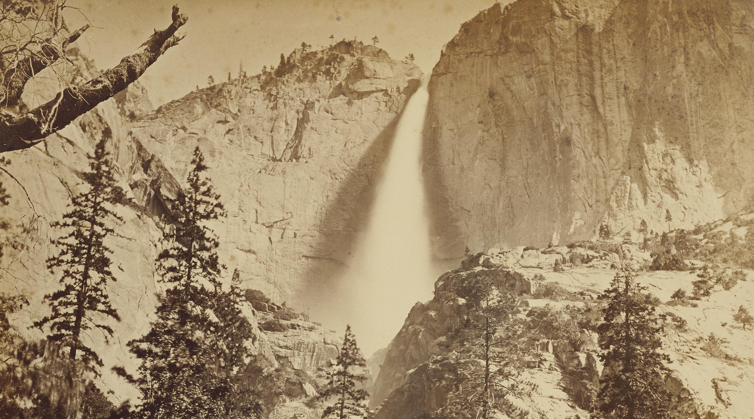 Carleton Watkins At Yosemite Falls Uc Press Blog